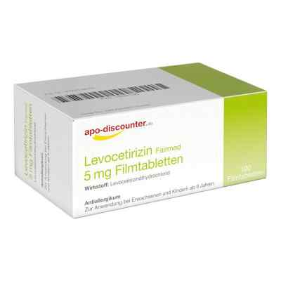 Levocetirizin 5 mg Filmtabletten von apo-discounter - bei Allerg  bei juvalis.de bestellen