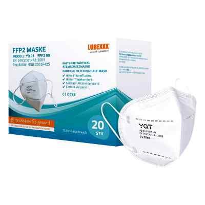 FFP2 Gesichtsmasken LUBEXXX  bei juvalis.de bestellen
