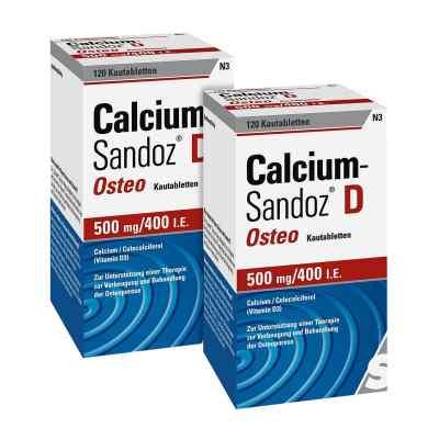 Calcium-Sandoz D Osteo 500mg 400 internationale Einheiten  bei juvalis.de bestellen