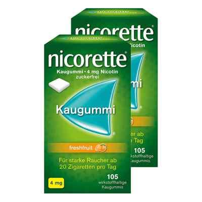 Nicorette 4 mg freshfruit Kaugummi  bei juvalis.de bestellen