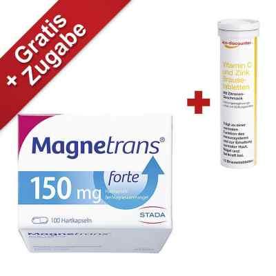 Magnetrans forte 150 mg Hartkapseln bei Magnesiummangel  bei juvalis.de bestellen