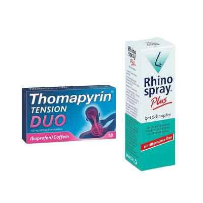 Aktionspaket - Thomapyrin TENSION DUO und Rhinospray Plus  bei juvalis.de bestellen