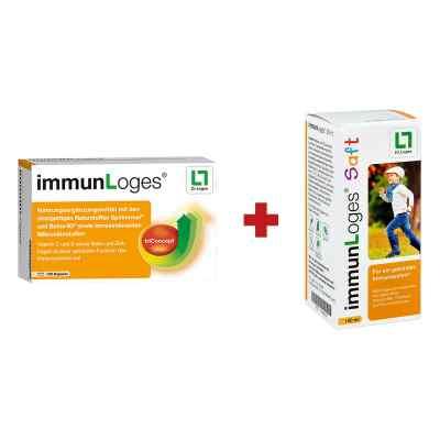 immunLoges Kapseln 120stk + GRATIS immunLoges Saft 150ml  bei juvalis.de bestellen