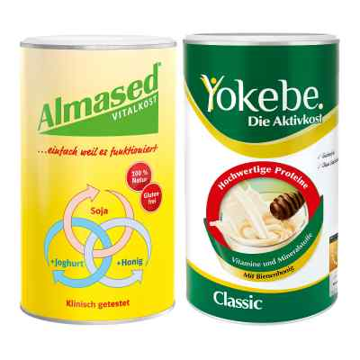 Almased Vitalkost + Yokebe Classic  bei juvalis.de bestellen