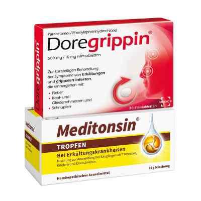 Meditonsin + Doregrippin  bei juvalis.de bestellen