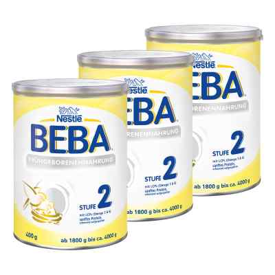 Nestle Beba Frühgeborenen Nahrung Stufe 2 3er Paket  bei juvalis.de bestellen