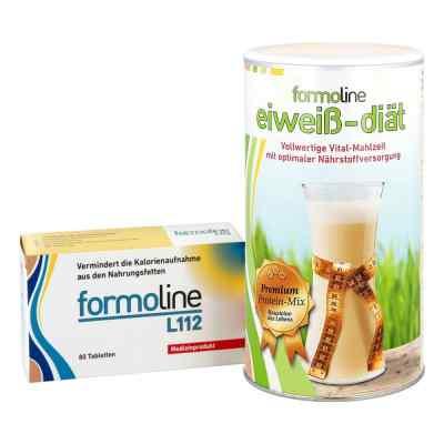 Formoline eiweiss-diät Pulver (480 g) + Formoline L112 Tabletten  bei juvalis.de bestellen