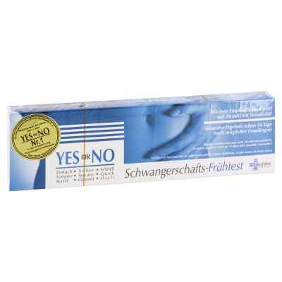 Yes Or No Hcg 10 mlU Schwangerschafts-frühtest  bei juvalis.de bestellen