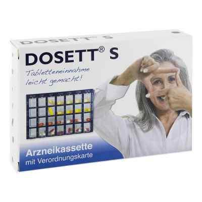 Dosett S Arzneikassette blau 11782  bei juvalis.de bestellen