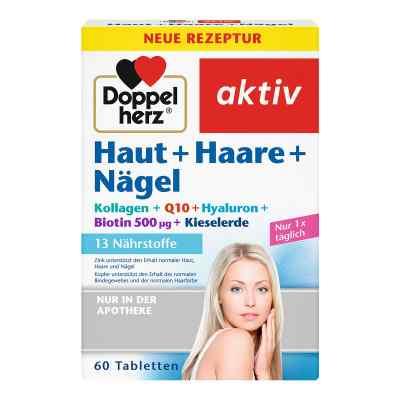 Doppelherz Haut + Haare + Nägel Tabletten  bei juvalis.de bestellen