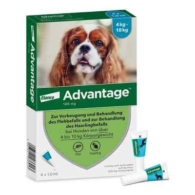 Advantage 100 für Hunde Lösung  bei juvalis.de bestellen