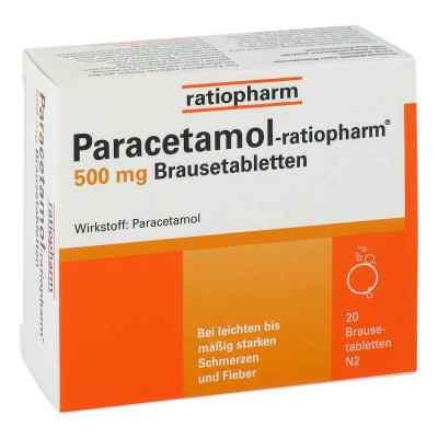 Paracetamol ratiopharm 500mg  bei juvalis.de bestellen