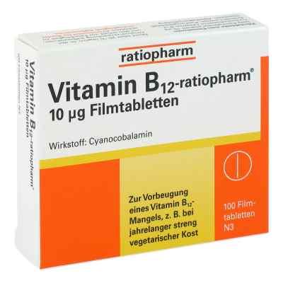 Vitamin B12 ratiopharm 10 [my]g Filmtabletten  bei juvalis.de bestellen
