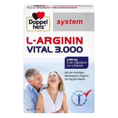 Doppelherz L-arginin Vital 3000 system Kapseln  bei juvalis.de bestellen