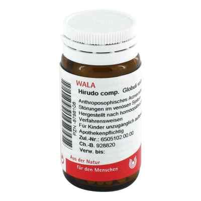 Hirudo Comp. Globuli  bei juvalis.de bestellen