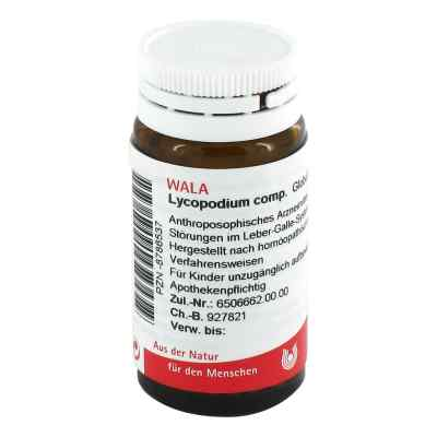 Lycopodium Comp. Globuli  bei juvalis.de bestellen