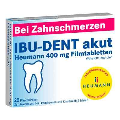 IBU-DENT akut Heumann 400mg  bei juvalis.de bestellen