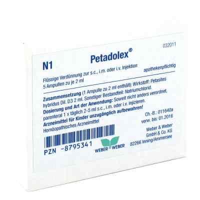 Petadolex Ampullen  bei juvalis.de bestellen