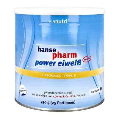 Hansepharm Power Eiweiss plus Vanille Pulver  bei juvalis.de bestellen