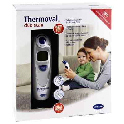 Thermoval duo scan Fieberthermometer für Ohr+Stirn  bei juvalis.de bestellen