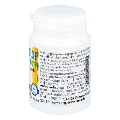 Kieselerde + Biotin Kapseln  bei juvalis.de bestellen