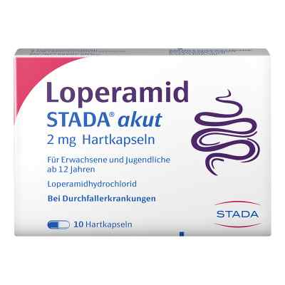 Loperamid STADA akut 2mg  bei juvalis.de bestellen