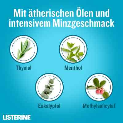 Listerine Coolmint Lösung  bei juvalis.de bestellen