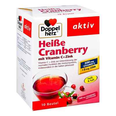 Doppelherz Heisse Cranberry mit Vitamin C +Zink Granulat  bei juvalis.de bestellen