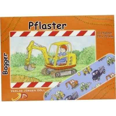 Kinderpflaster Bagger Briefchen  bei juvalis.de bestellen