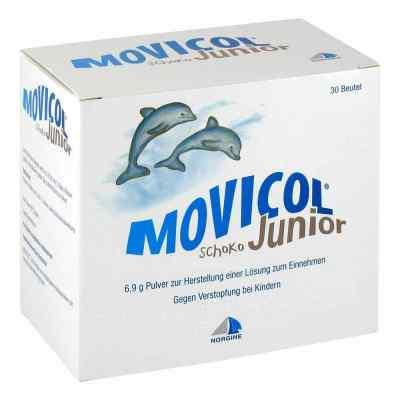 Movicol Junior Schoko Pulver zur, zum Herst.e.Lsg.z.Ein.  bei juvalis.de bestellen