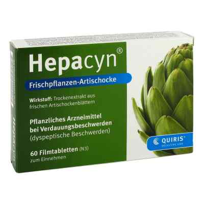 Hepacyn Frischpflanzen-Artischocke  bei juvalis.de bestellen