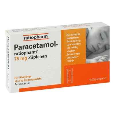 Paracetamol ratiopharm 75mg  bei juvalis.de bestellen