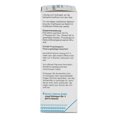 Permethrin-biomo 0,5%  bei juvalis.de bestellen
