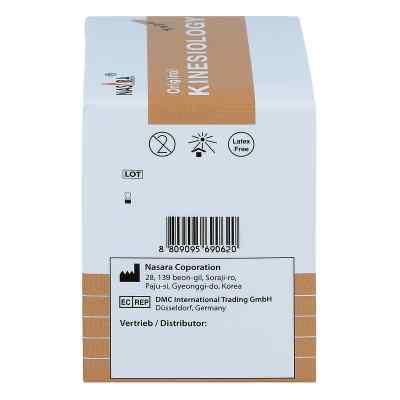 Nasara Kinesio Tape 5 cmx5 m beige inkl.Spenderbox  bei juvalis.de bestellen