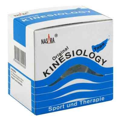 Nasara Kinesio Tape 5 cmx5 m blau inkl.Spenderbox  bei juvalis.de bestellen