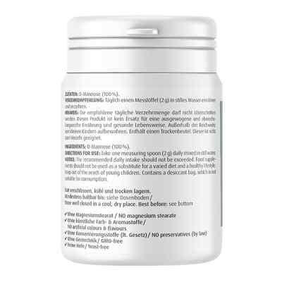 Natural D-mannose Powder  bei juvalis.de bestellen