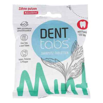 Denttabs Zahnputztabletten stevia mint  bei juvalis.de bestellen