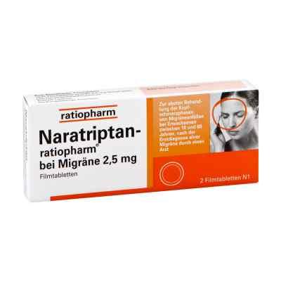 Naratriptan-ratiopharm bei Migräne 2,5mg  bei juvalis.de bestellen