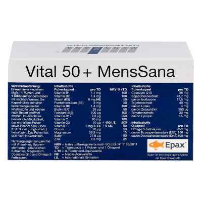 Vital 50+ Menssana Kapseln  bei juvalis.de bestellen