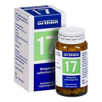 Biochemie Orthim 17 Manganum sulfuricum D12 Tabletten  bei juvalis.de bestellen