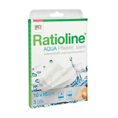 Ratioline aqua Duschpflaster Plus 10x15 cm steril  bei juvalis.de bestellen