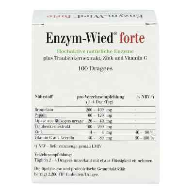 Enzym Wied forte Dragees  bei juvalis.de bestellen