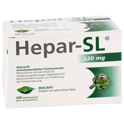 Hepar Sl 320 mg Hartkapseln  bei juvalis.de bestellen
