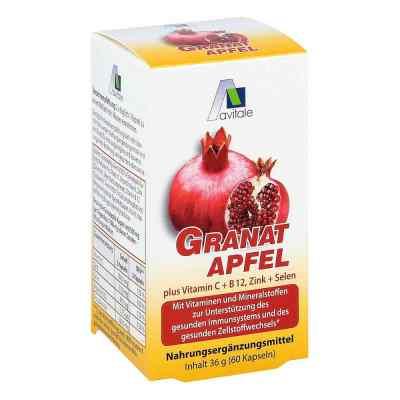 Granatapfel 500 mg plus Vitamine c + B12 + Zink + Selen  bei juvalis.de bestellen