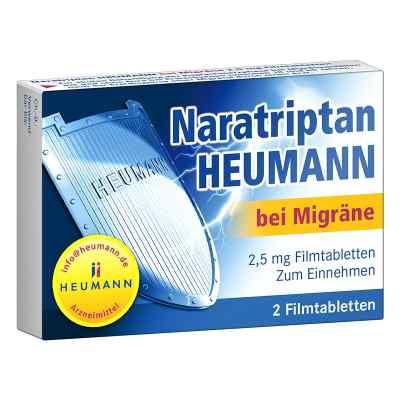 Naratriptan Heumann bei Migräne 2,5mg  bei juvalis.de bestellen