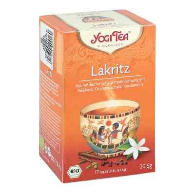 Yogi Tea Lakritz Bio  bei juvalis.de bestellen