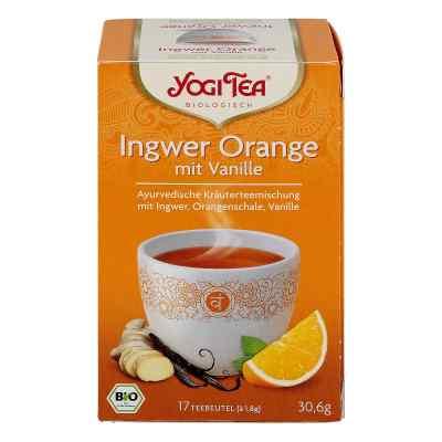 Yogi Tea Ingwer Orange+vanille Bio Filterbeutel  bei juvalis.de bestellen