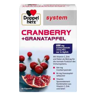 Doppelherz Cranberry + Granatapfel system Kapseln  bei juvalis.de bestellen