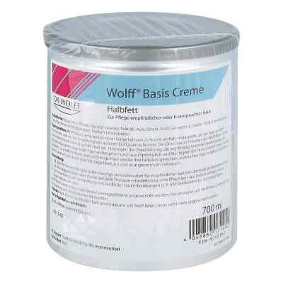 Wolff Basiscreme halbfett  bei juvalis.de bestellen
