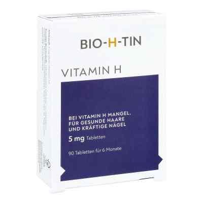 Bio-h-tin Vitamin H 5 mg für 6 Monate Tabletten  bei juvalis.de bestellen